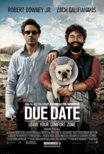 Due Date (2010) คู่แปลก ทริปป่วน ร่วมไปให้ทันคลอด